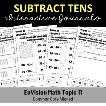 EnVision Math Topic 11 Journal