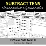 EnVision Math Topic 11 Interactive Journal/Notebook