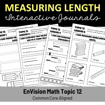 EnVision Math Topic 12 Journal