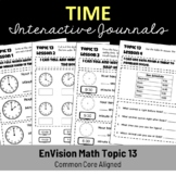 EnVision Math Topic 13 Interactive Journal/Notebook