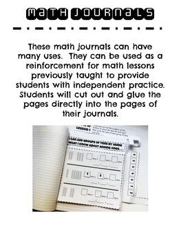 EnVision Math Topic 15 Journal