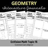EnVision Math Topic 15 Interactive Journal/Notebook