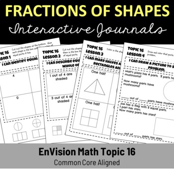 EnVision Math Topic 16 Journal