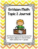 EnVision Math Topic 2 Journal