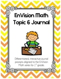 EnVision Math Topic 6 Journal