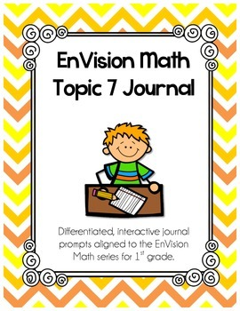 EnVision Math Topic 7 Journal