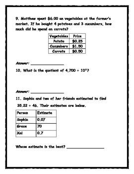 EnVision Math Topics 5-8