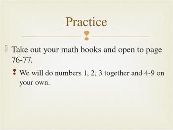 EnVision Math Unit 3-5