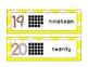 EnVision Math Vocabulary Cards for Kindergarten Chevron