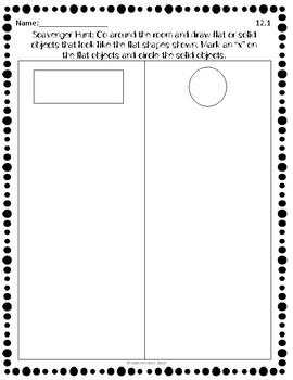 EnVision Mathematics Topic 12 - Kindergarten