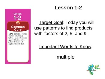 EnVision Math Grade 4: Topic 1 Power Point