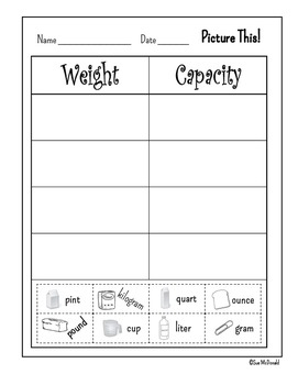 EnVision, Topic 14 - Measurement: Capacity and Weight - Grade 2