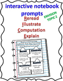 EnVision Topic 2   2nd grade R.I.C.E. Interactive Notebook