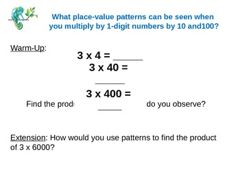 EnVision Math Grade 4: Topic 5 Power Point