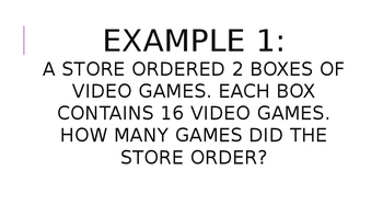 EnVision Topic 6 Powerpoint Presentation: Multiplication