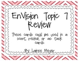 EnVision Topic 7 Review