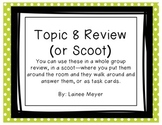 EnVision Topic 8 Review