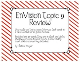 EnVision Topic 9 Review