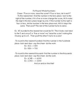EnVisions 2.0 Fourth Grade Study Guide Topics 1-4