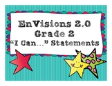 """EnVisions 2.0 Grade 2 """"I Can"""" Statements"""