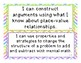 """EnVisions 2.0 Grade 4 """"I Can"""" Statements"""