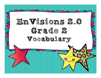 EnVisions 2.0 Grade 2 Vocabulary