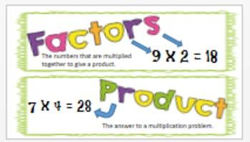 EnVisions 2.0 Grade 3 Topics 1-8 Vocabulary