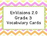 EnVisions 2.0 Grade 3 Vocabulary Cards