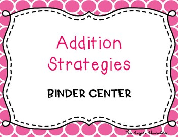 EnVisions Binder Center: Topic 2 - Addition Strategies