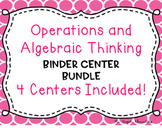 EnVisions Binder Centers: Topics 1-4 Operations and Algebr