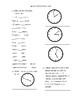 EnVisions Grade 3 Topics 9-12 Practice Test