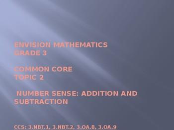EnVisions Math Grade 3 Topic 2