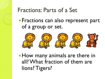 Grade 3 EnVisions Math Topic 9 Common Core Aligned Power Points: Fractions