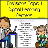 2nd Grade EnVisions Topic1 Digital Math Learning Centers-