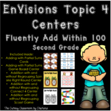 EnVisions Topic 4 Centers Fluently Add Within 100 Second Grade
