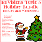 EnVisions Topic 5 Holiday Bundle Centers and Worksheets Second Grade
