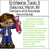 EnVisions Topic 5 Subtract Within 100 Centers and Activities