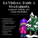 EnVisions Topic 5 Worksheets Winter Themed Second Grade