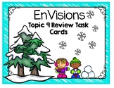 EnVisions Topic 9 Fraction Review Task Cards Third Grade