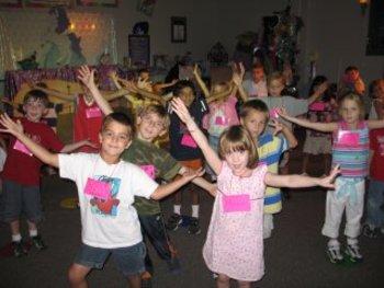 Enacting Nursery Rhymes:Little Miss Muffet (Being a Spider)