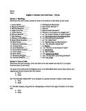 English Anthology Exam