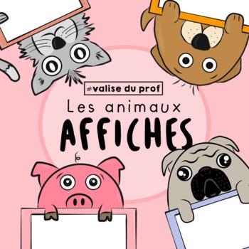 Encadrés d'animaux - animals frames cliparts