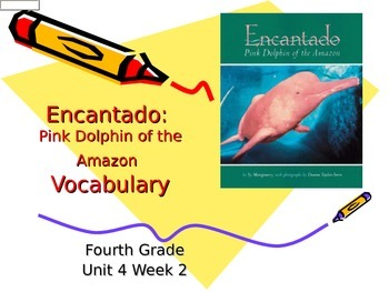 Encantado Vocabulary Powerpoint