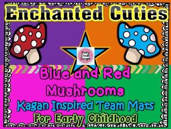 Enchanted Cuties! Mushroom Themed Kagan Inspired Team Mats