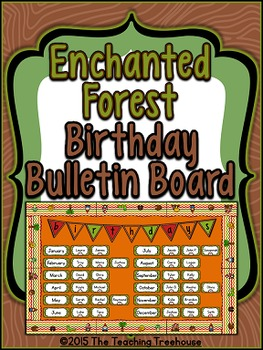 Enchanted Forest Birthday Bulletin Board Kit