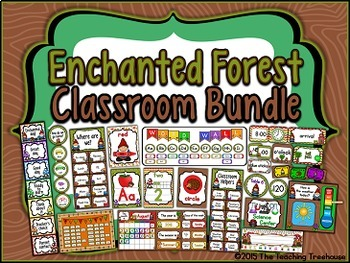 Enchanted Forest Classroom Bundle (Gnome)