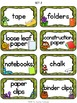Enchanted Forest Classroom Supply Labels