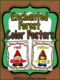 Enchanted Forest Color Posters