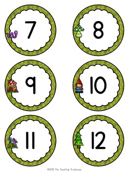 Enchanted Forest Numbers 1-120
