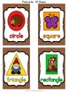 Enchanted Forest Shape Posters
